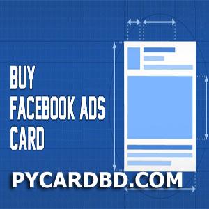 Facebook Ads VCC (Virtual Credit Card) bd