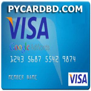 Google Adwords VCC (Virtual Credit Card) bd