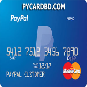 VCC (Virtual Credit Card) for Paypal Verification in Bangladesh
